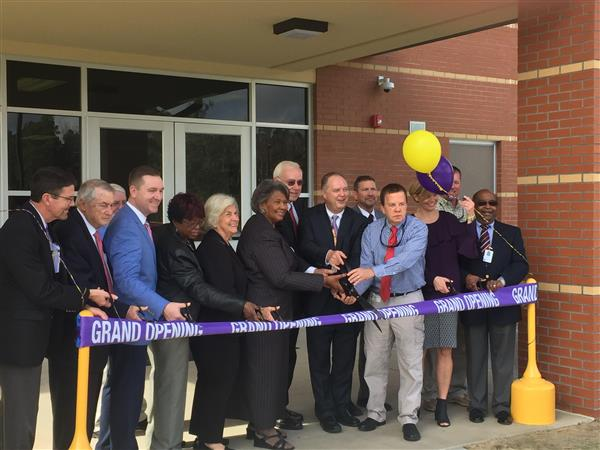 Chicod School Holds Ribbon Cutting for New Expansion Facilities