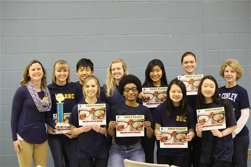 D.H. Conley High  Wins Battle of the Books