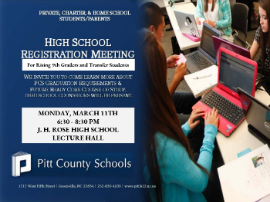 High School Registration Meeting for Transfer Students