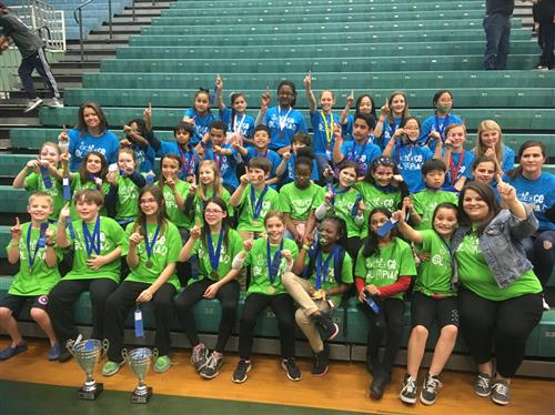 Wintergreen Intermediate Wins Science Olympiad