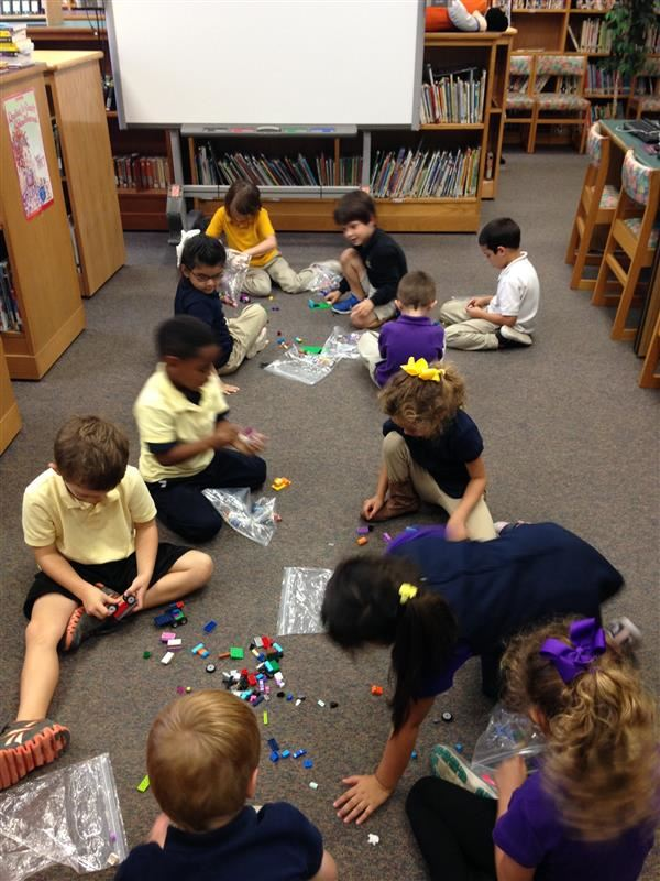 Media Center Kids with Legos