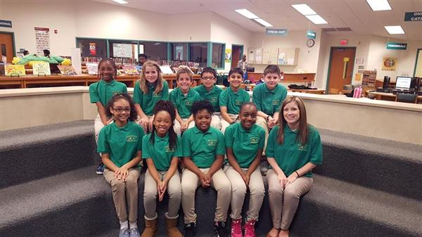 2015-2016 Battle of the Books Team