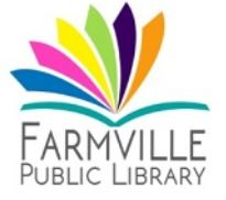 Farmville Library Logo
