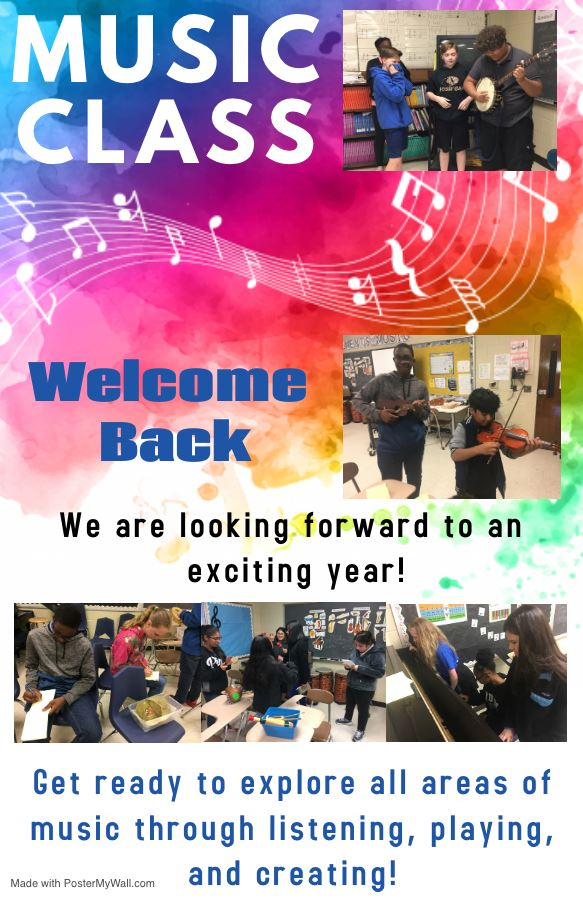Welcome to Music Class at AMS!