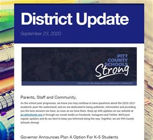 district update september 23