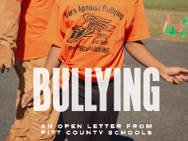 Bullying: an Open Letter to Parents and Community Members