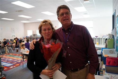 Mrs. Linda Morris, Teacher Assistant of the Year