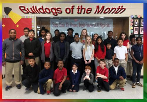 Bulldogs of the Month