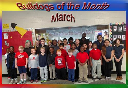 Bulldogs of the Month for March