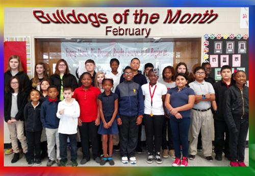 Congratulations to our February Bulldogs of the Month!