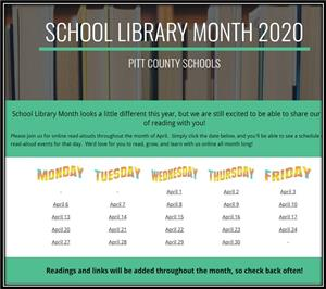 PCS School Library Month 2020