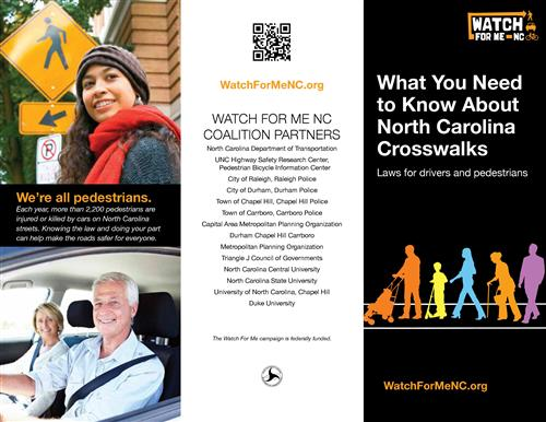 Crosswalks and NC Law